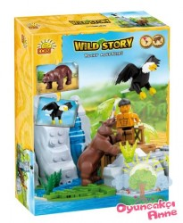 Cobi - Cobi Rocky Mountains 220 Pcs Wild Story