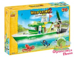Cobi - Cobi Scientific Boat 300Pcs Wild Story