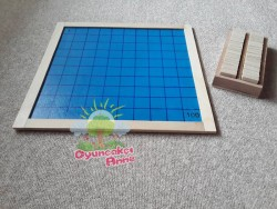 Oyuncakci Anne - Montessori Hundred Board (Büyük Boy)